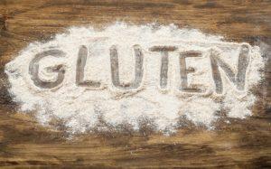 scritta gluten nella farina
