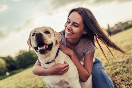 Un cane sano e felice