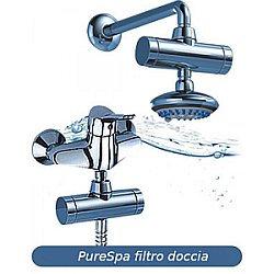 filtri per doccia con carbone attivo