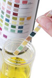 test del ph urinario