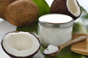 olio di cocco antimicrobico