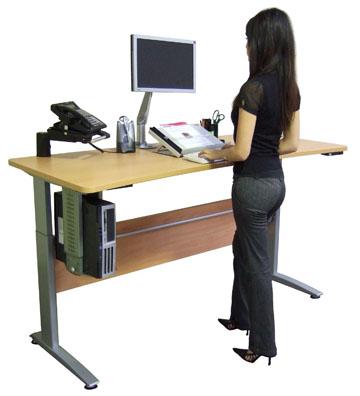scrivania in piedi