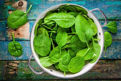 spinaci e verdure