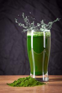 succo verde fresco contro le carenze di minerali