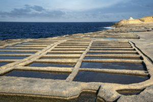 saline marine ricche di sale naturale