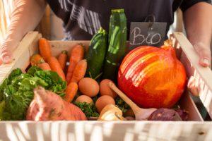 verdura e frutta biologica