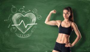 il fitness mantiene il cuore in salute