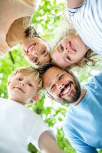 la salute unisce la famiglia