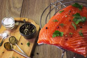 salmone fresco ricco di omega 3