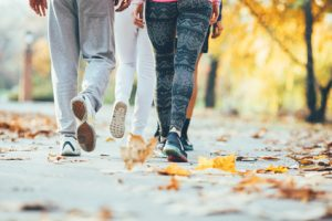 attività fisica al parco
