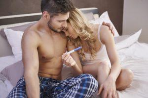 test di gravidanza coppia infelice