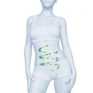 digestione sana nella donna