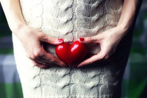donna cuore vescica