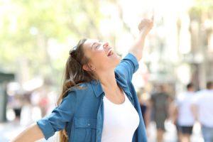 energia vitale nella donna
