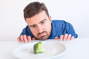 uomo dieta vegetariana