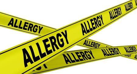 avviso di allergia